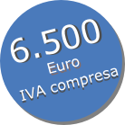 6.500 euro IVA COMPRESA